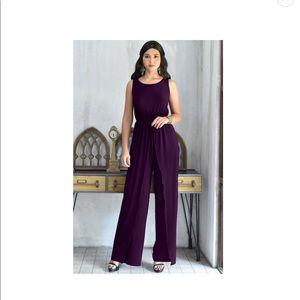 KOHKOH purple jumpsuit
